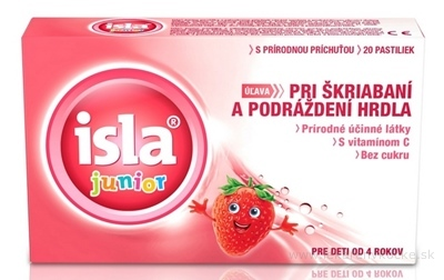 ISLA Junior pastilky 1x20 ks