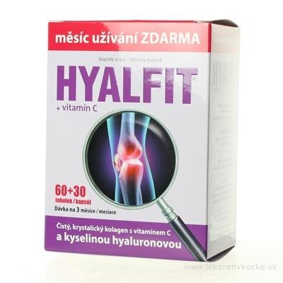 HYALFIT + vitamín C cps 60+30 zadarmo (90 ks)