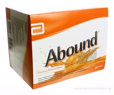 Abound pomarančová príchuť vrecká 30x24 g