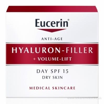 Eucerin HYALURON-FILLER+Volume-Lift Denný krém Anti-Age, pre suchú pleť 1x50 ml