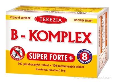 TEREZIA B-KOMPLEX SUPER FORTE+ tbl 1x100 ks