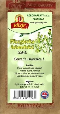 AGROKARPATY PĽUZGIERKA ISLANDSKÁ bylinný čaj 1x30 g