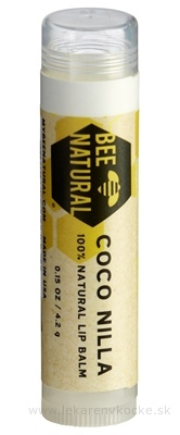 BEE NATURAL balzam na pery Kokos a Vanilka 1x4,2 g