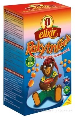 AGROKARPATY BIO Rakytníček detský vitamínový čaj, balené vrecúška, 20x1,5 g (30 g)