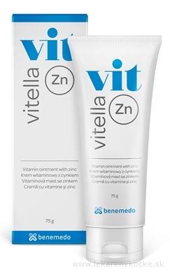 Vitella Zn vitamínová masť so zinkom 1x75 g