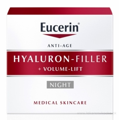 Eucerin HYALURON-FILLER+Volume-Lift Nočný krém Anti-Age 1x50 ml