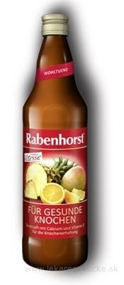 Rabenhorst VITESSE PRE ZDRAVÉ KOSTI ovocná šťava s kalciom a vitamínom D3 1x750 ml
