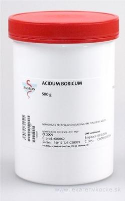 Acidum boricum - FAGRON v dóze 1x500 g