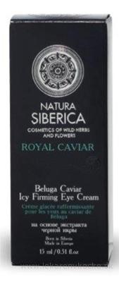 NATURA SIBERICA ROYAL CAVIAR Očný krém liftingový, spevňujúci s kaviárom z Belugy 1x15 ml