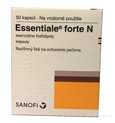 Essentiale 300 mg (Essentiale forte N) cps dur 1x50 ks