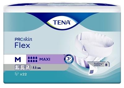 TENA FLEX MAXI MEDIUM absorpčné nohavičky s rýchloupínacím pásom 1x22 ks