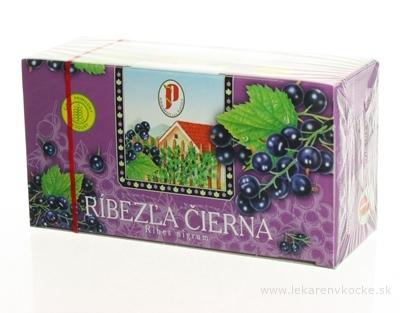AGROKARPATY RÍBEZĽA ČIERNA ovocný čaj, 20x2 g (40 g)