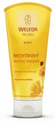 WELEDA NECHTÍKOVÝ detský šampón (Calendula Babywash & Shampoo) 1x200 ml