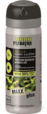 PREDATOR MAXX PLUS repelent proti komárom a kliešťom 1x80 ml