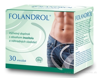 Exeltis Folandrol pro muže 30 sáčků