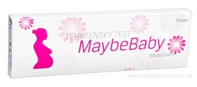 MaybeBaby midstream 2v1 tehotenský test (tyčinka) 1x2 ks