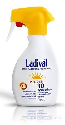 Ladival PRE DETI SPF 30 sprej na ochranu proti slnku 1x200 ml