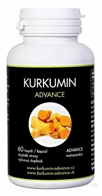 ADVANCE Kurkumin cps 1x60 ks