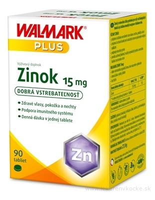 WALMARK Zinok 15 mg tbl 1x90 ks