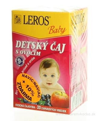 LEROS BABY DETSKÝ ČAJ S OVOCÍM 20x2 g (40 g)