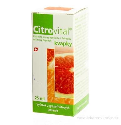 CITROVITAL KVAPKY 1x25 ml