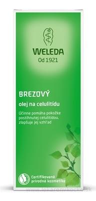 WELEDA Brezový olej na celulitídu (Birken Cellulite-Öl) 1x100 ml