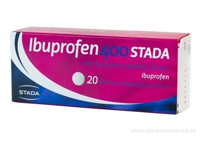 Ibuprofen 400 STADA tbl flm (blis.) 1x20 ks