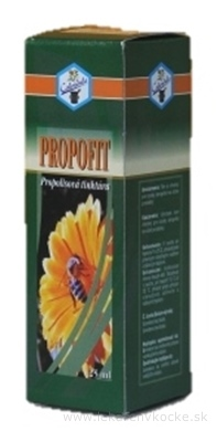 Calendula Propofit propolisová tinktúra 1x25 ml
