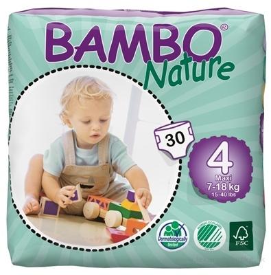 BAMBO MAXI - 4, 7-18 kg detské plienky priedušné, savosť 1000 ml, 1x30 ks