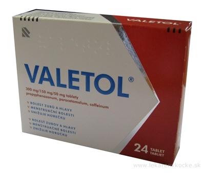 VALETOL tbl (blis.PVC/Al) 1x24 ks