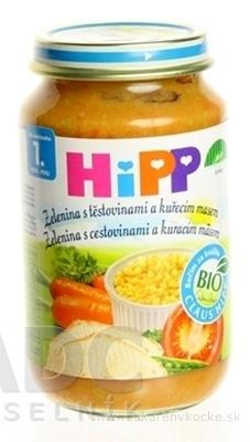 HiPP Príkrm Cestoviny kura so zeleninou detské menu (od ukonč. 12. mesiaca) 1x220 g