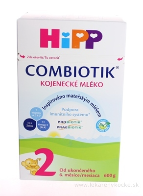 HiPP 2 BIO Combiotik 600g