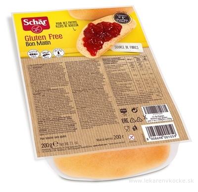 Schär BON MATIN žemle bezgluténové sladké 4x50 g (200 g)