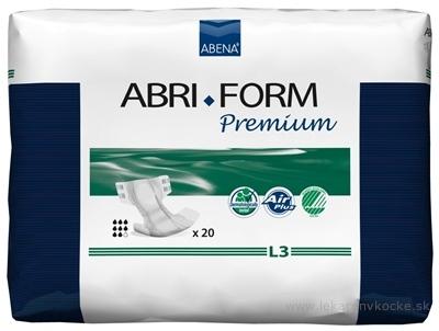 ABENA ABRI FORM Premium L3 plienkové nohavičky priedušné, boky 100-150 cm, savosť 3400 ml, 1x20 ks