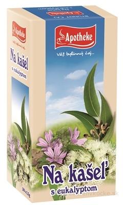 APOTHEKE Na kašeľ s eukalyptom bylinná zmes v záparových vreckách 20x1,5 g (30 g)