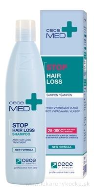 ceceMED STOP HAIR LOSS SHAMPOO šampón proti vypadávaniu vlasov 1x300 ml