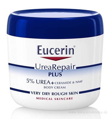 Eucerin UreaRepair PLUS Telový krém 5% Urea 1x450 ml