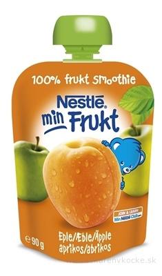 Nestlé min Frukt Marhuľa Jablko kapsička, ovocná desiata (od ukonč. 6. mesiaca) 1x90 g