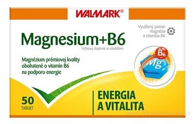 WALMARK MAGNESIUM B6 tbl (so sladidlom) 1x50 ks