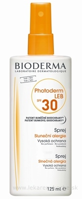 BIODERMA PHOTODERM LEB SPF30 sprej 1x125 ml