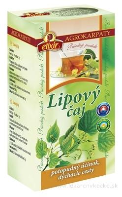 AGROKARPATY Lipový čaj čistý prírodný produkt, 20x2 g (40 g)