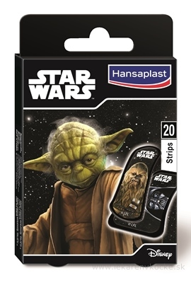 HANSAPLAST Junior Star Wars náplasť 1x20 ks