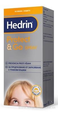 HEDRIN PROTECT&GO SPRAY ochrana proti všiam 1x120 ml