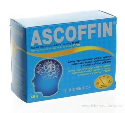 BIOMEDICA ASCOFFIN plv eff 1x10 ks