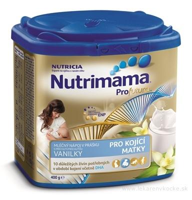 Nutrimama Profutura mliečny nápoj s vanilkovou príchuťou (pre kojacie matky) 1x400 g