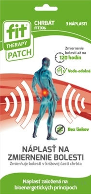 FIT THERAPY Patch CHRBÁT náplasť 1x3 ks