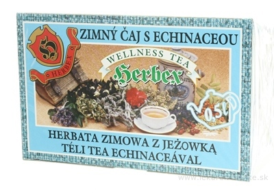 HERBEX ZIMNÝ ČAJ S ECHINACEOU bylinný čaj 20x3 g (60 g)