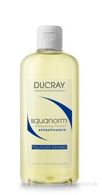 DUCRAY SQUANORM - PELLICULES GRASSES Šampón proti mastným lupinám 1x200 ml