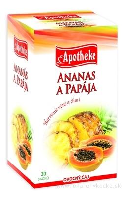 APOTHEKE PREMIER SELECTION ČAJ ANANÁS A PAPÁJA 20x2 g (40 g)