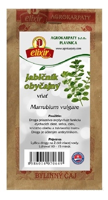 AGROKARPATY JABLČNÍK OBYČAJNÝ vňať bylinný čaj 1x30 g